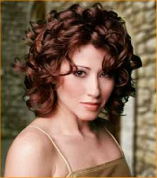 Terrific Curly Formal Hairstyles For Medium Length Hair Bombshell Salon Short Hairstyles Gunalazisus